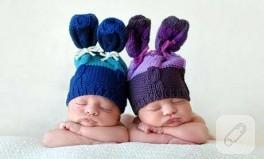 bebek mi şapka mı :))