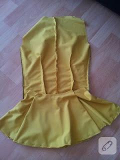Peplum bluz yapımı