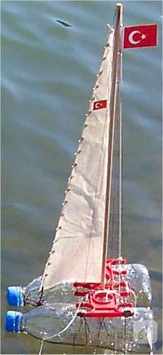 Pet Şişeden Model Gemi Yapımı