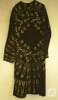 """Masa örtüsünden şahane bir elbise """"2″"""