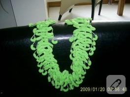 yeşil fular