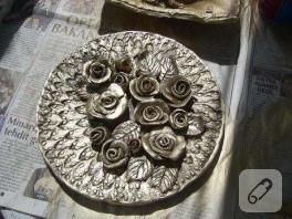 seramik tabak yapmak müthiş keyifli…