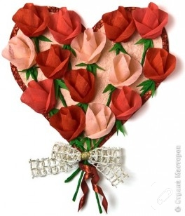 Kırmızı Güllerden Pano