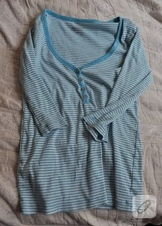 Bir tişört dönüşümü daha…