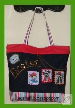 Korsanlı çanta