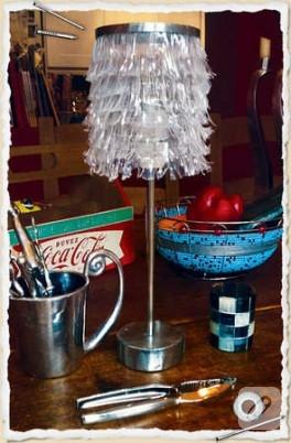 Cola şişesinden lambaya dönüşüm…