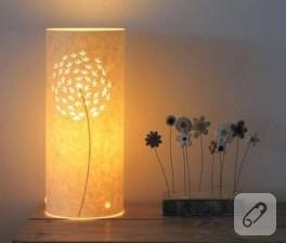 Çiçekli Lambalar…