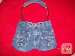 çocuklarınız eskiyen kot pantolonlarını atmayın :))