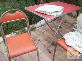 annemin eski sandalyelerini yeniledim:))