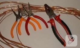Bakır tel ve bir kaç aletle ne yapılır?