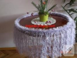 Sakallı İpten Fiskos Masası Örtüsü