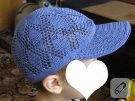 erkek çocuklara yazlık şapka