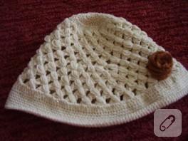 Yazlık şapka modeli