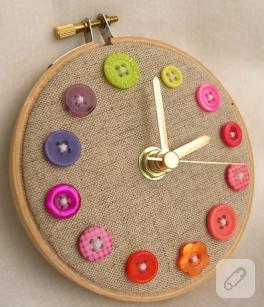 Düğmeli saat