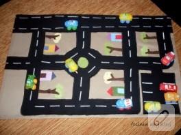 trafik oyun halısı