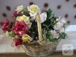 sepet sepet çiçekler…