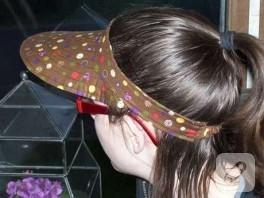kadın şapkası yapımı