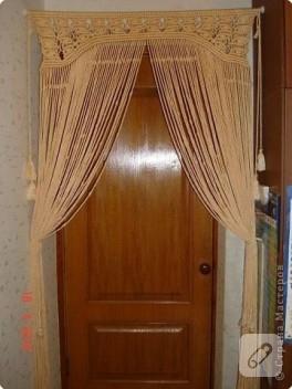Makrome Kapı Perdesi..
