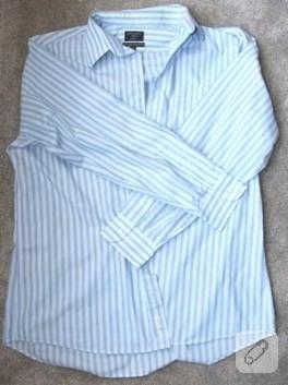 Erkek Gömleğinden Yazlık Elbise