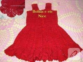 Kızlara Elbise.