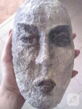 kağıt hamurundan maske-2