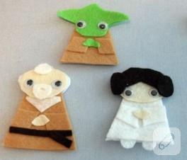 Star Wars Parmak Kuklaları