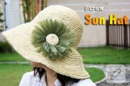 yazlık örgü şapka