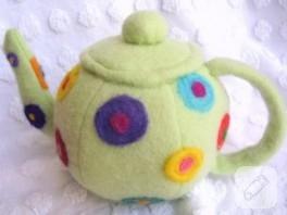 Çocuklar İçin Kumaştan Çaydanlık Yapımı