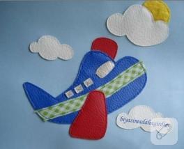 Bebek Odaları İçin Pano-3- uçak