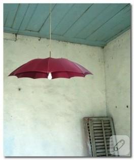 Şemsiyeden Abajur ve Avize