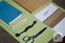 kağıtlarla defter yapımı