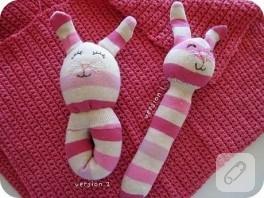 Çorap oyuncak yapımı