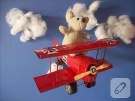 Boş Sprey Kutusundan Maket Uçak Yapımı