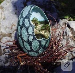 Yumurtanın içine sığdırılmış…