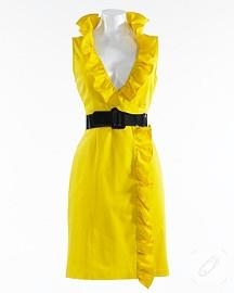 sarı sarı elbise
