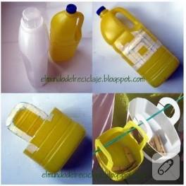 Bir plastik şişe, iki dönüşüm