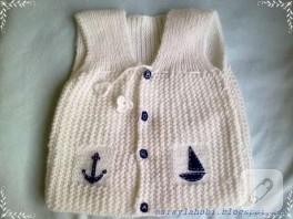 küçük denizciye yelek