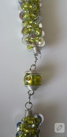 yeşil kolye