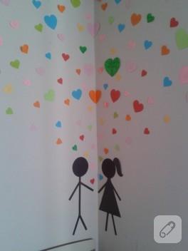 Creative, eğlenceli duvarlar