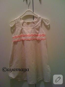 Eski gömlekten yeni elbiseye