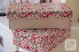 Ayakkabı kutusundan hediye kutusuna (geri dönüşüm)