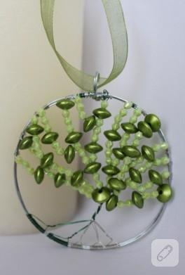 Ağaç temalı kolyem (yeşillendik)
