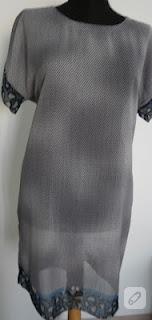 Eşarptan elbise