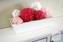 Diy: dekoratif gül yapımı