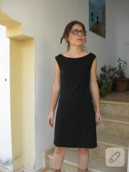 Ornitorenk Handmade küçük siyah elbise