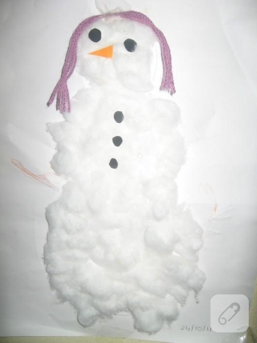Pamuktan kardan adam
