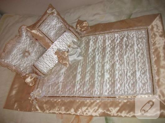 yatak örtüsü takımı