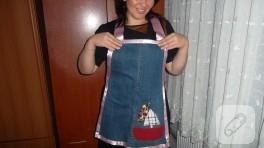 Kot pantolondan mutfak önlüğüne