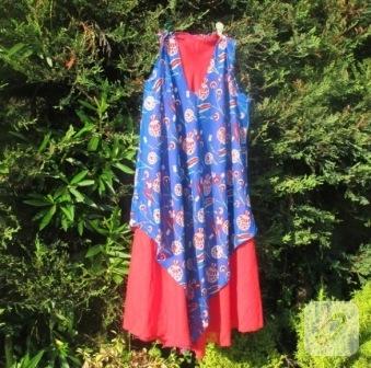 Tülbent kumaşından pratik elbise
