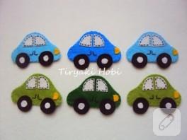 Keçe magnet – araba 2
